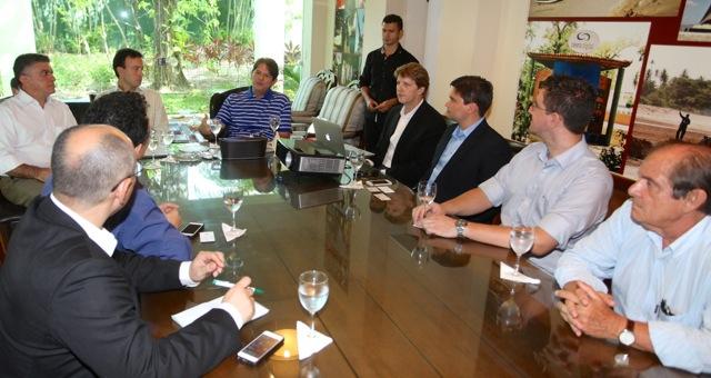Reunião da Apple com o representantes do Governo do Ceará