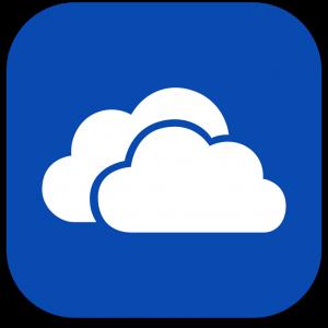 Ícone do app OneDrive para iOS