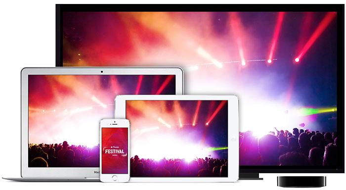 Transmissão do iTunes Festival