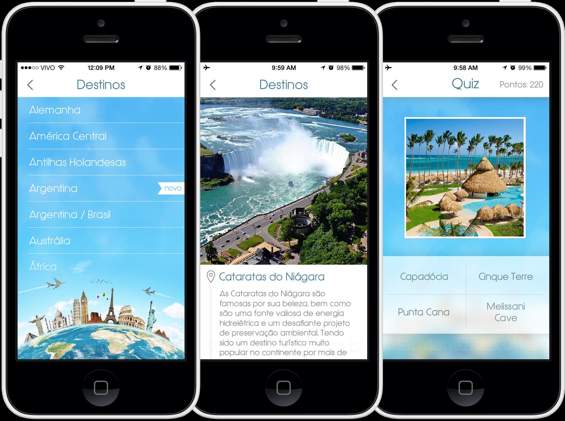 App Destinos Imperdíveis para iPhones/iPods touch