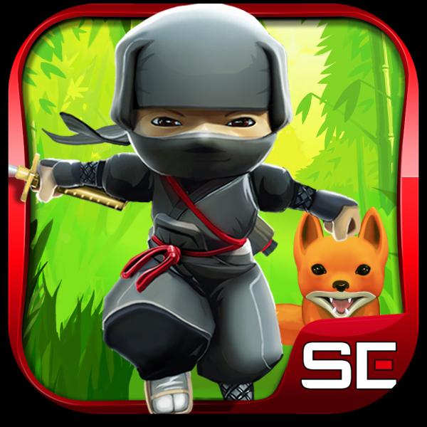 Ícone do jogo Mini Ninjas para iOS