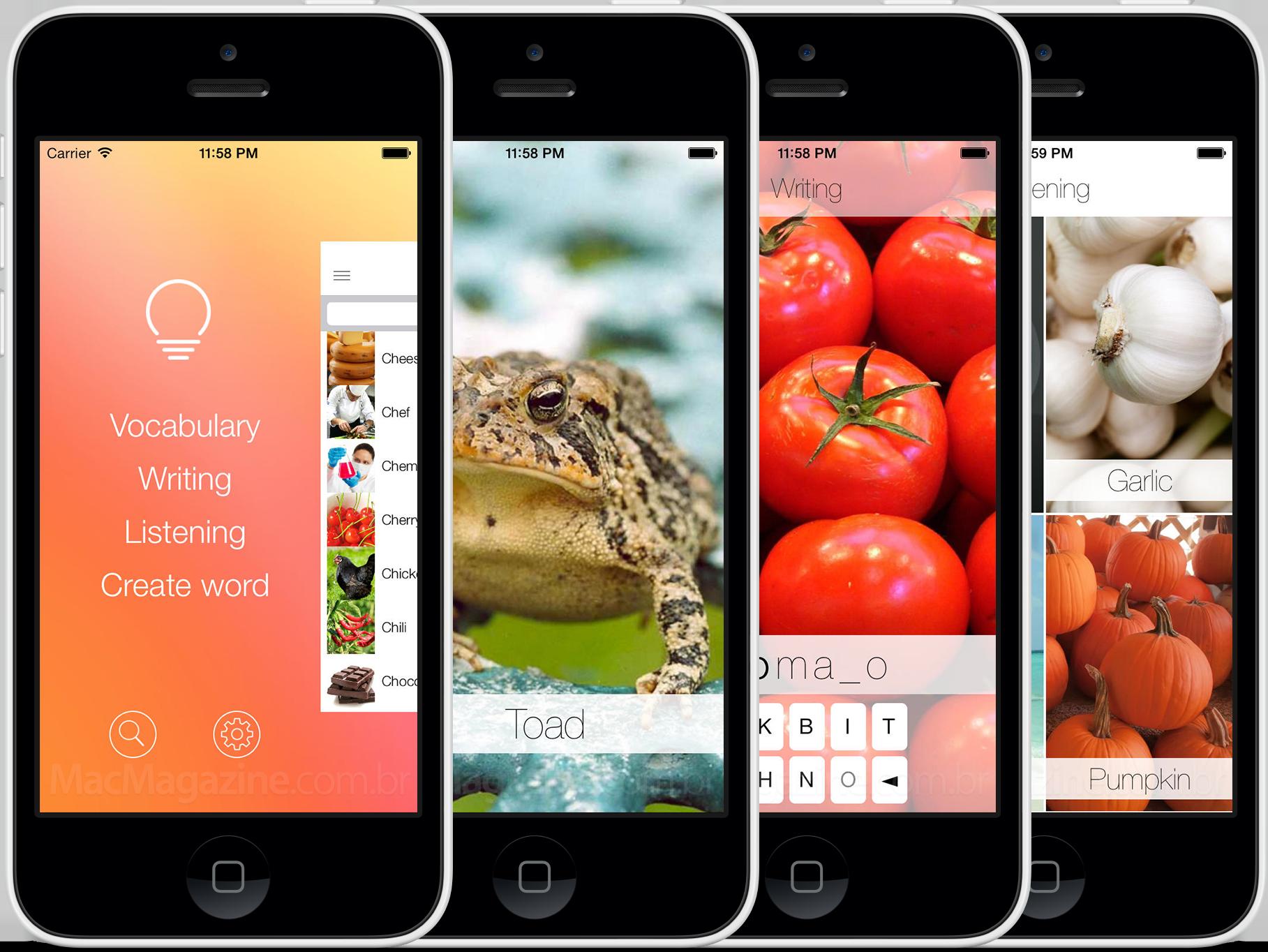 Aprenda Inglês com iLearn: English em iPhones