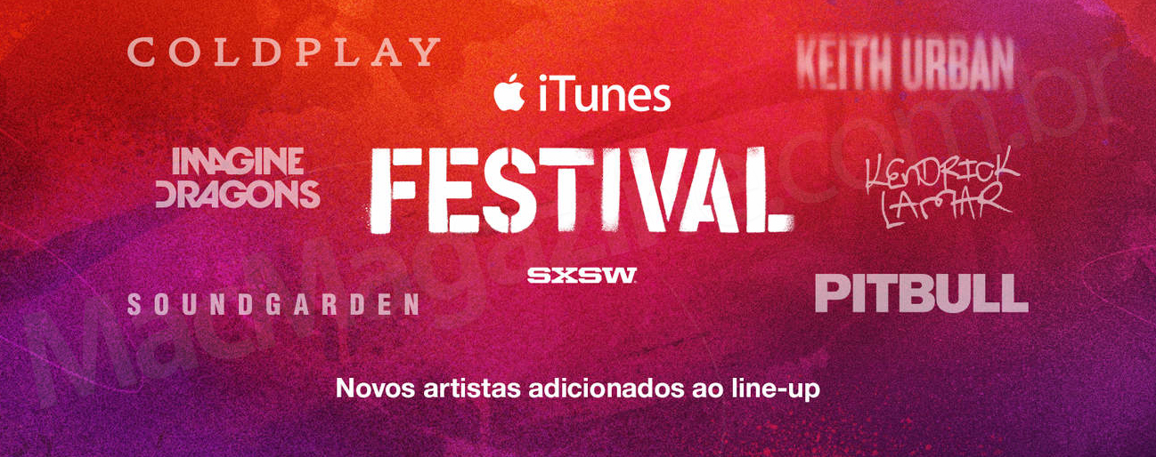 Line-up do iTunes Festival fechado