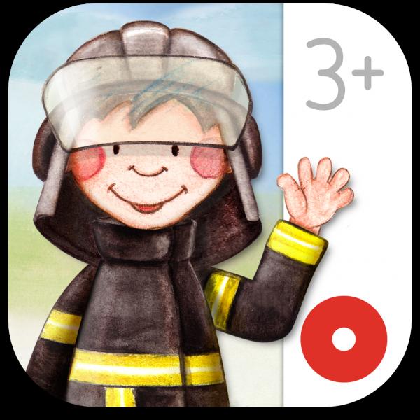 Ícone do app/livro Pequenos Bombeiros para iOS