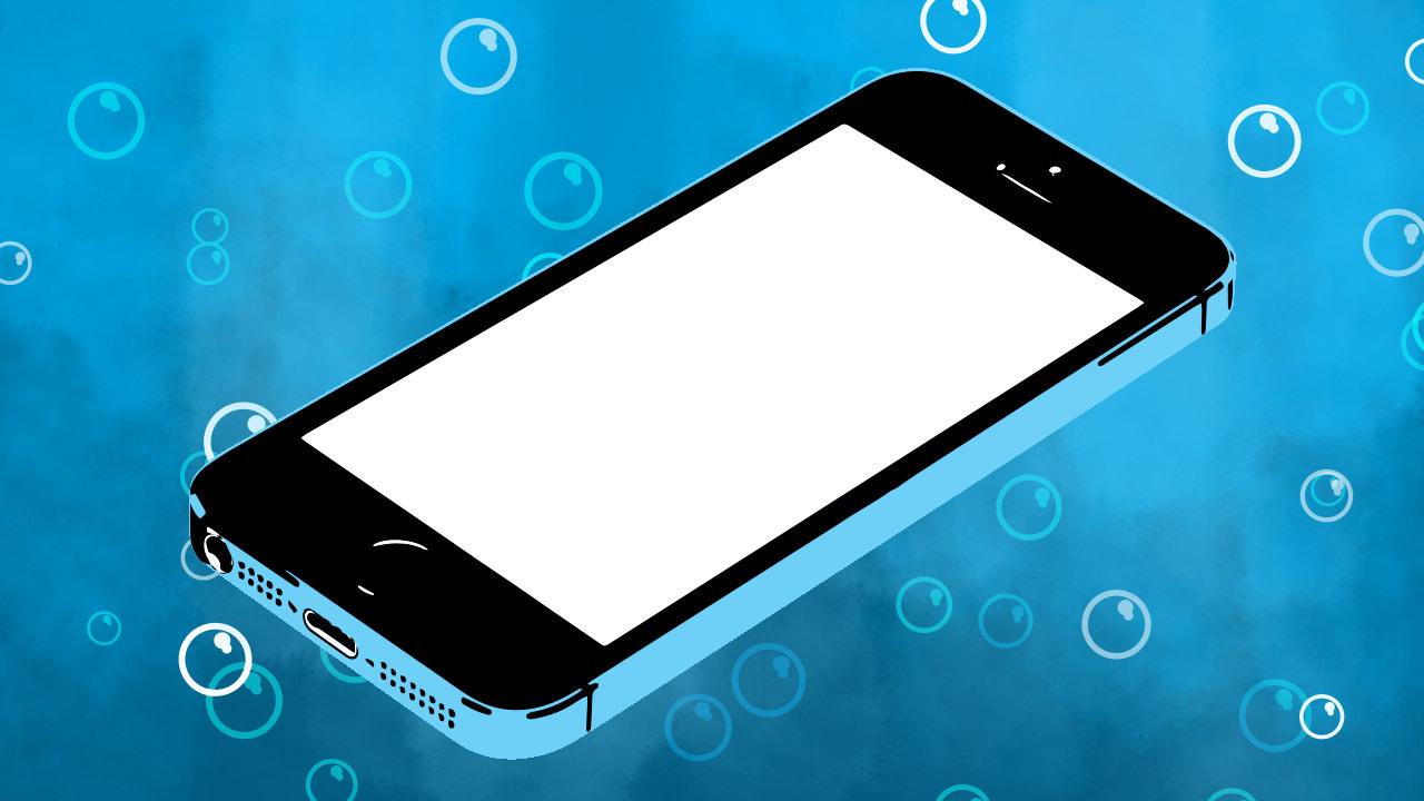 iPhone à prova d'água