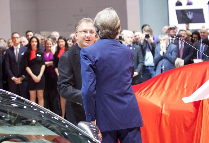 Greg Joswiak no Geneva Motor Show