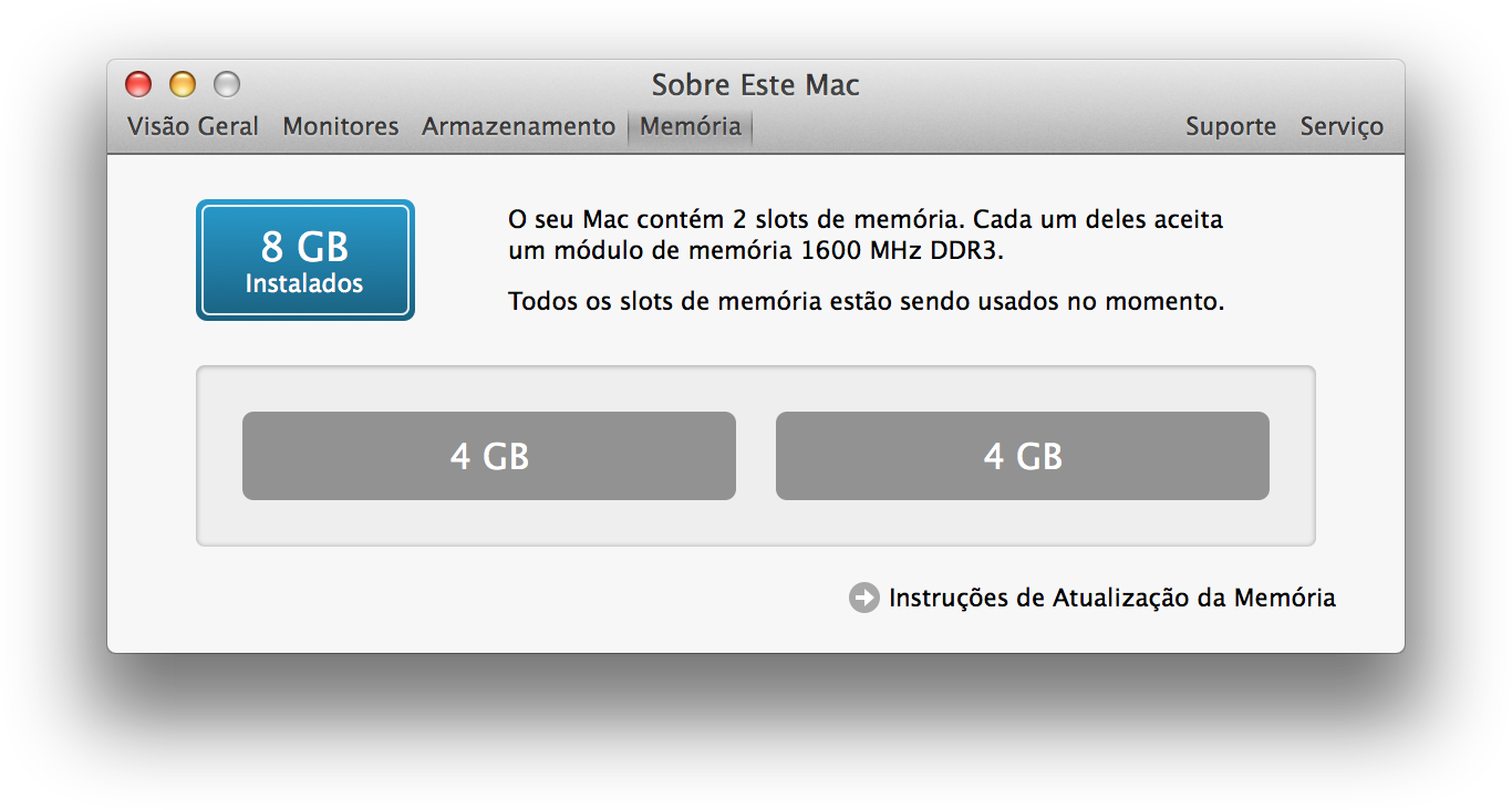 RAM no OS X
