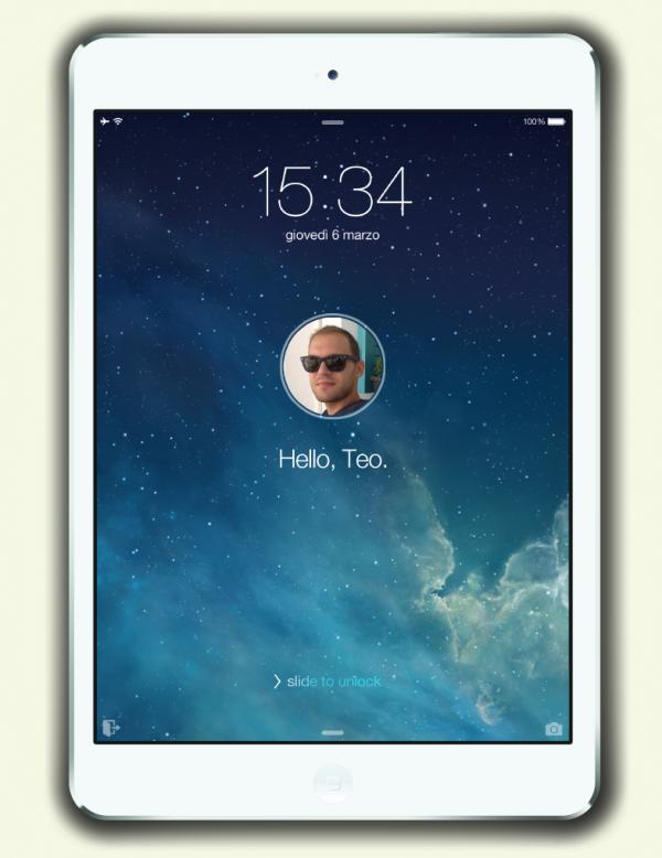 Conceito de múltiplos usuários para iOS/iPads - Teo Maragakis
