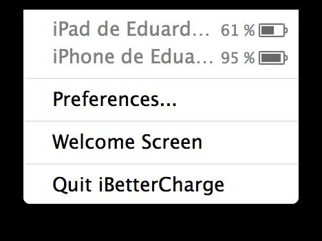 iBetterCharge para OS X