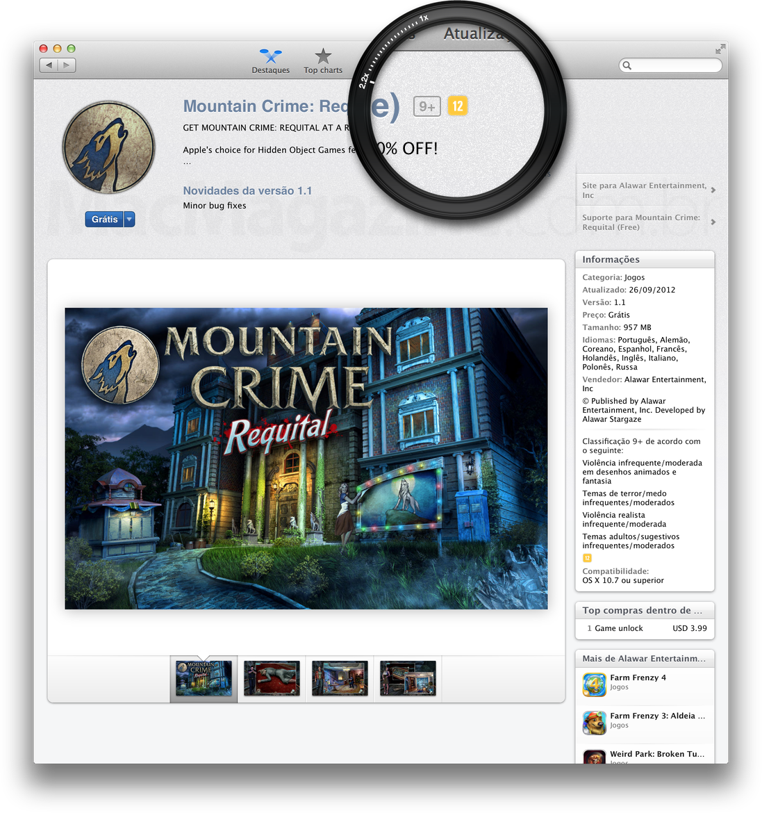 Mountain Crime: Requital na Mac App Store
