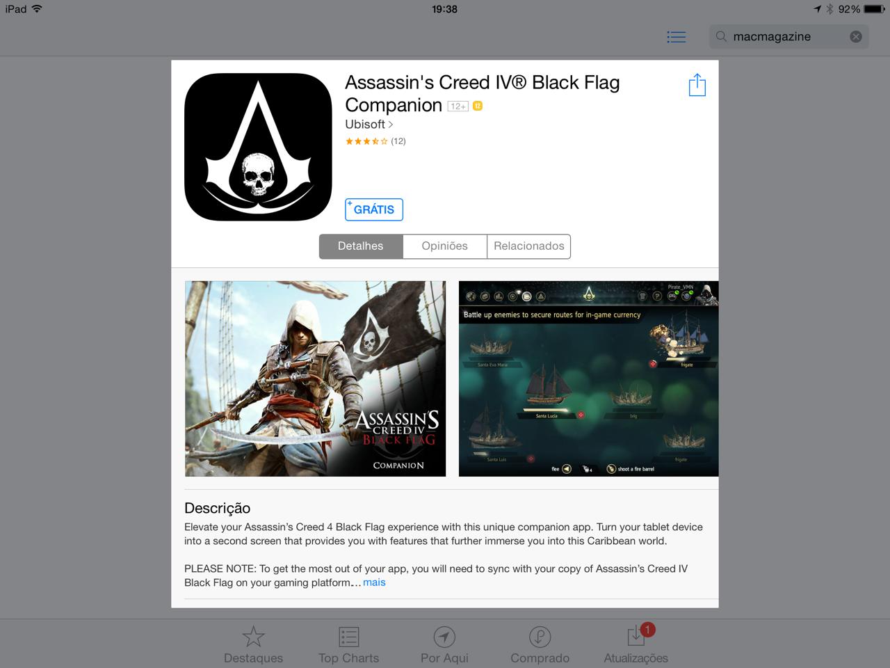 Classificação indicativa - App Store