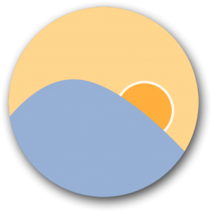 Ícone do app f.lux para OS X