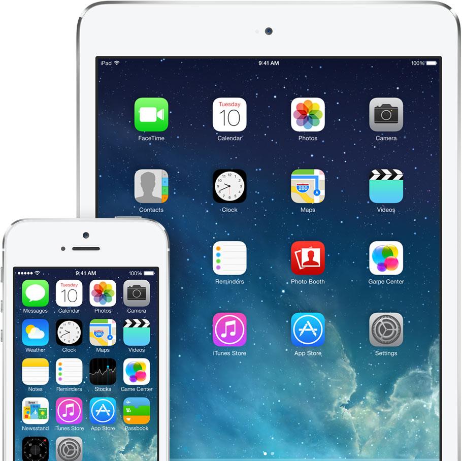 iOS 7 (iPad e iPhone)