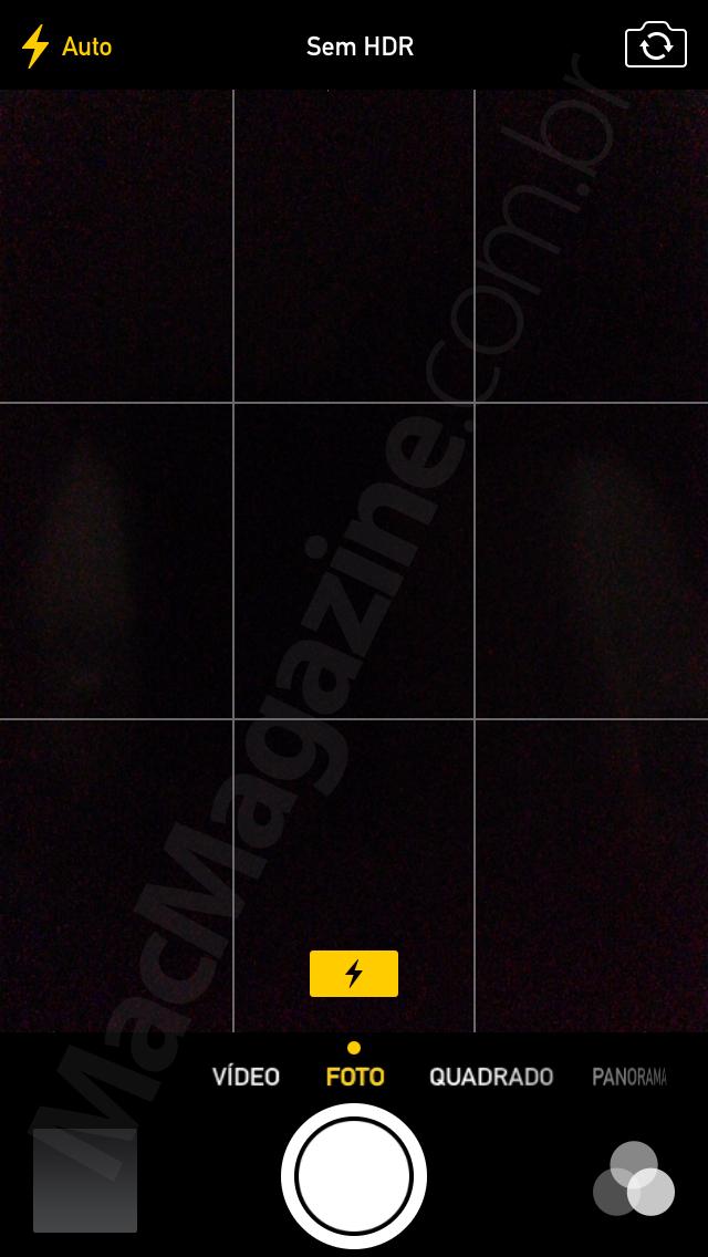 Flash automático no iOS 7.1