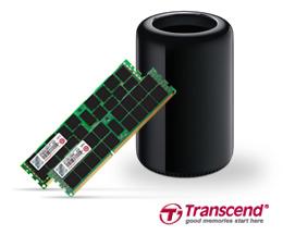 RAM da Transcend para Mac Pro