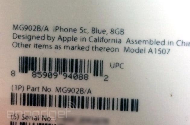 iPhone 5c de 8GB