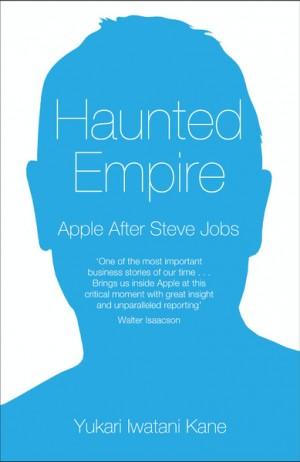 "Capa do livro ""Haunted Empire: Apple After Steve Jobs"""