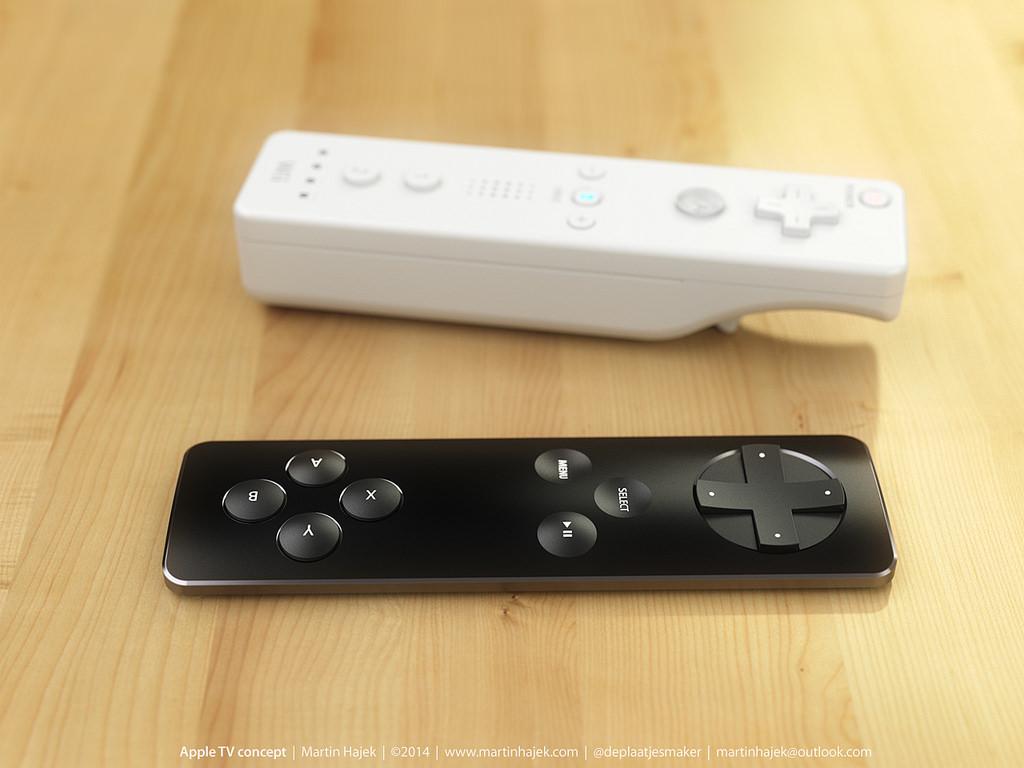 Conceito de controle para jogos da Apple TV