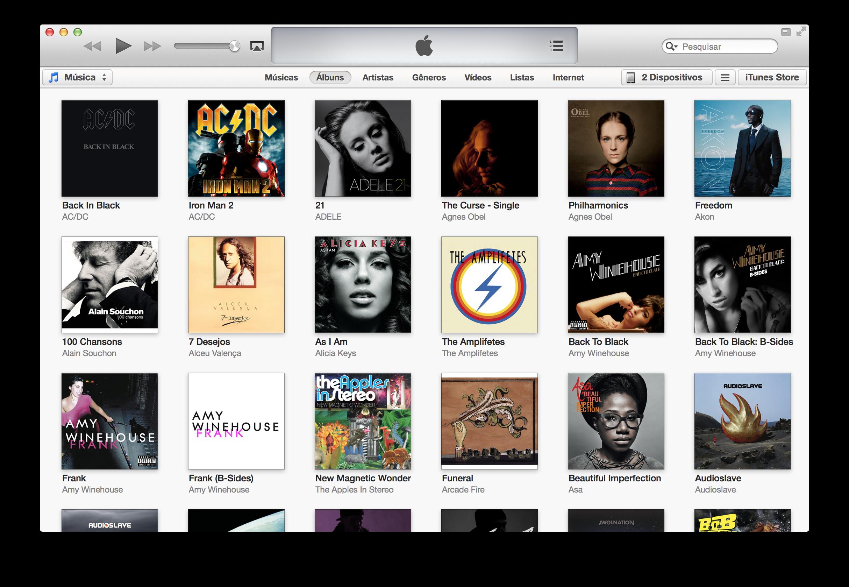 Biblioteca do iTunes
