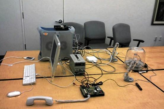 Sala onde o iPhone foi criado