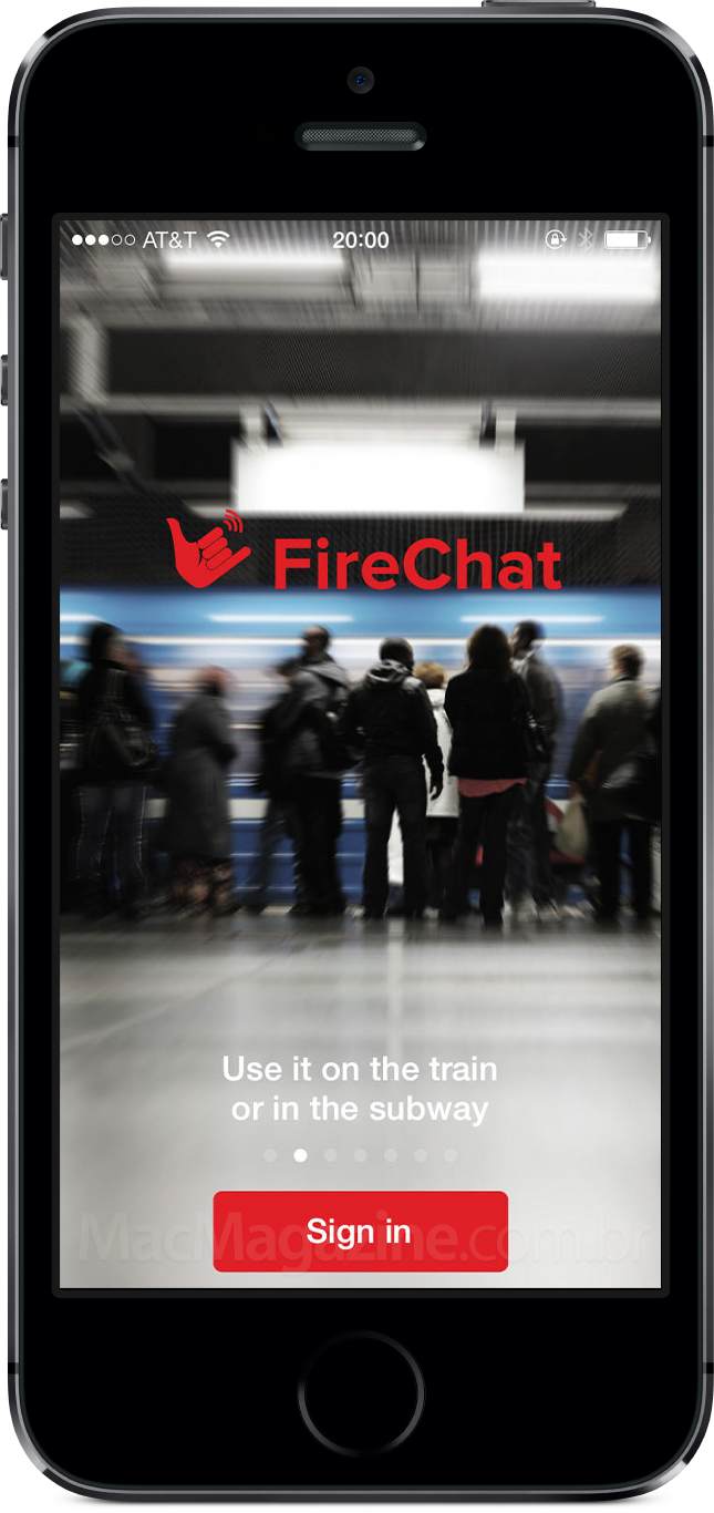 FireChat no iPhone