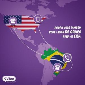 Viber para os EUA