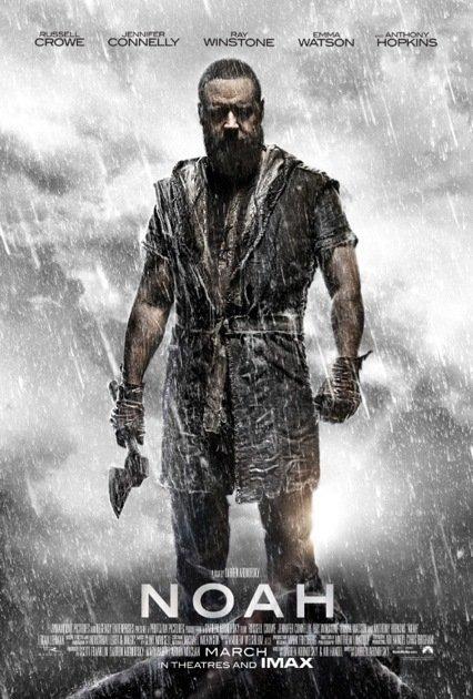 Capa do filme - Noé/Noah