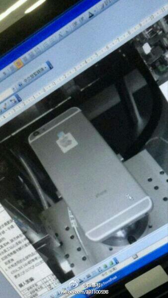 Suposto iPhone 6 em produção