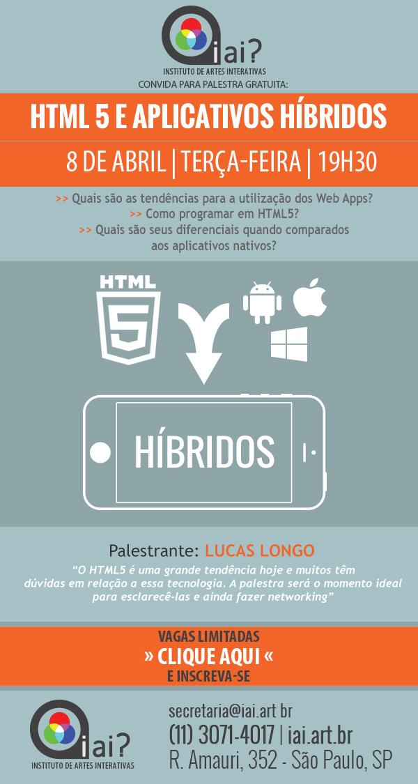 Palestra do iai? sobre HTML5 e apps híbridos