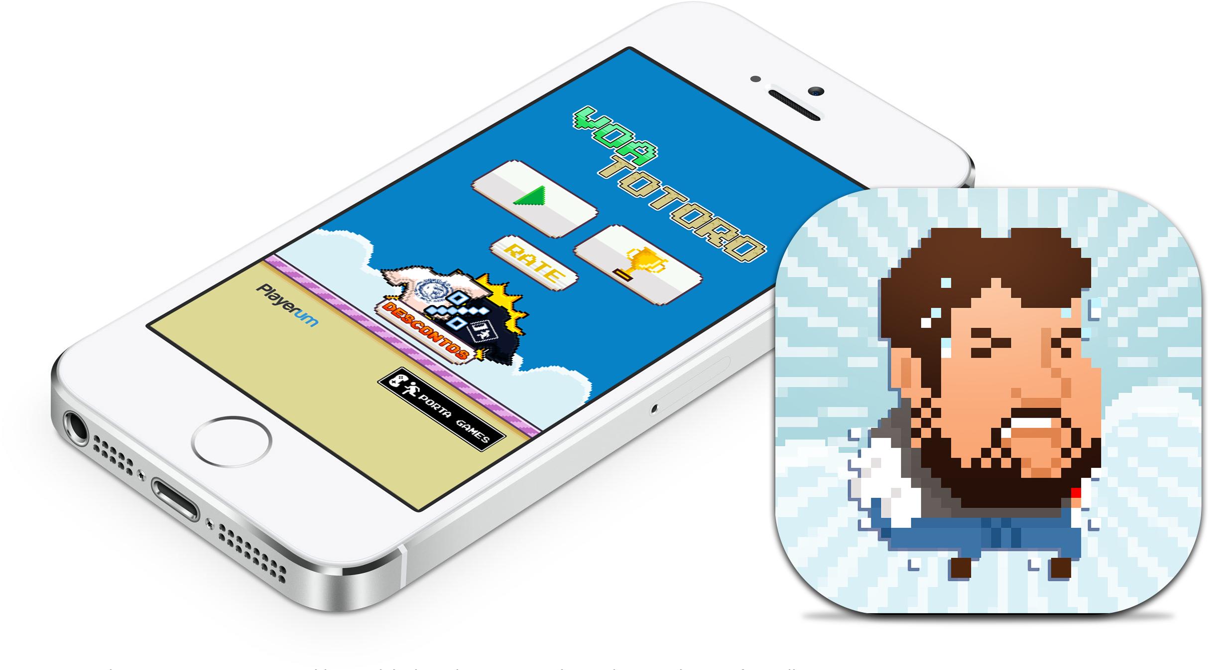 Voa Totoro (Porta dos Fundos) - iPhone e icone