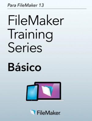 """Capa do livro """"Série de treinamentos do FileMaker: Básico para FileMaker 13"""""""