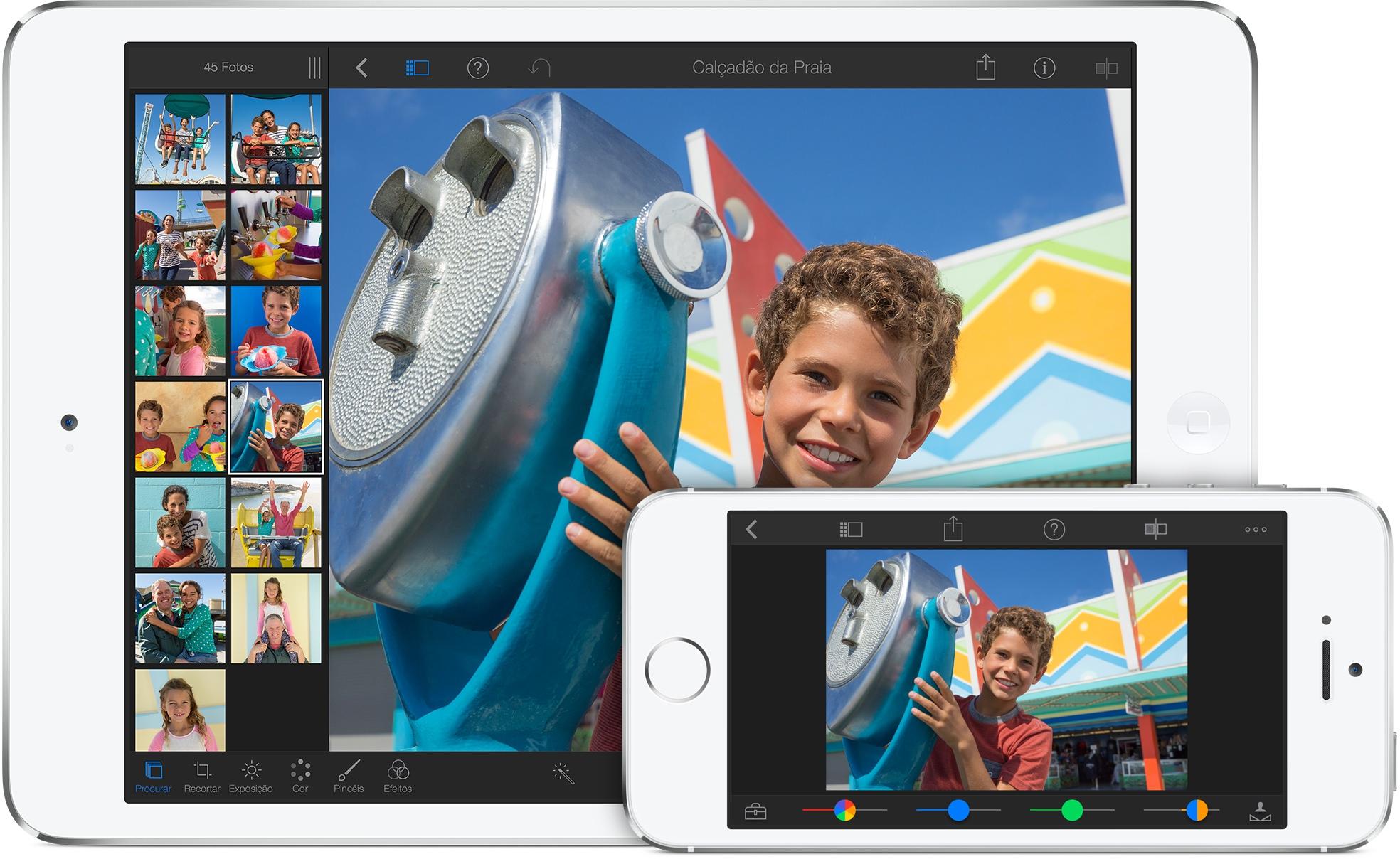 App iPhoto para iOS