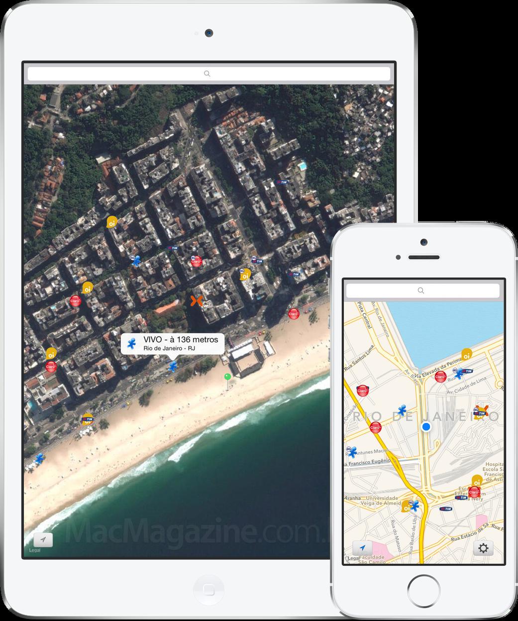 App Cobertura para iOS