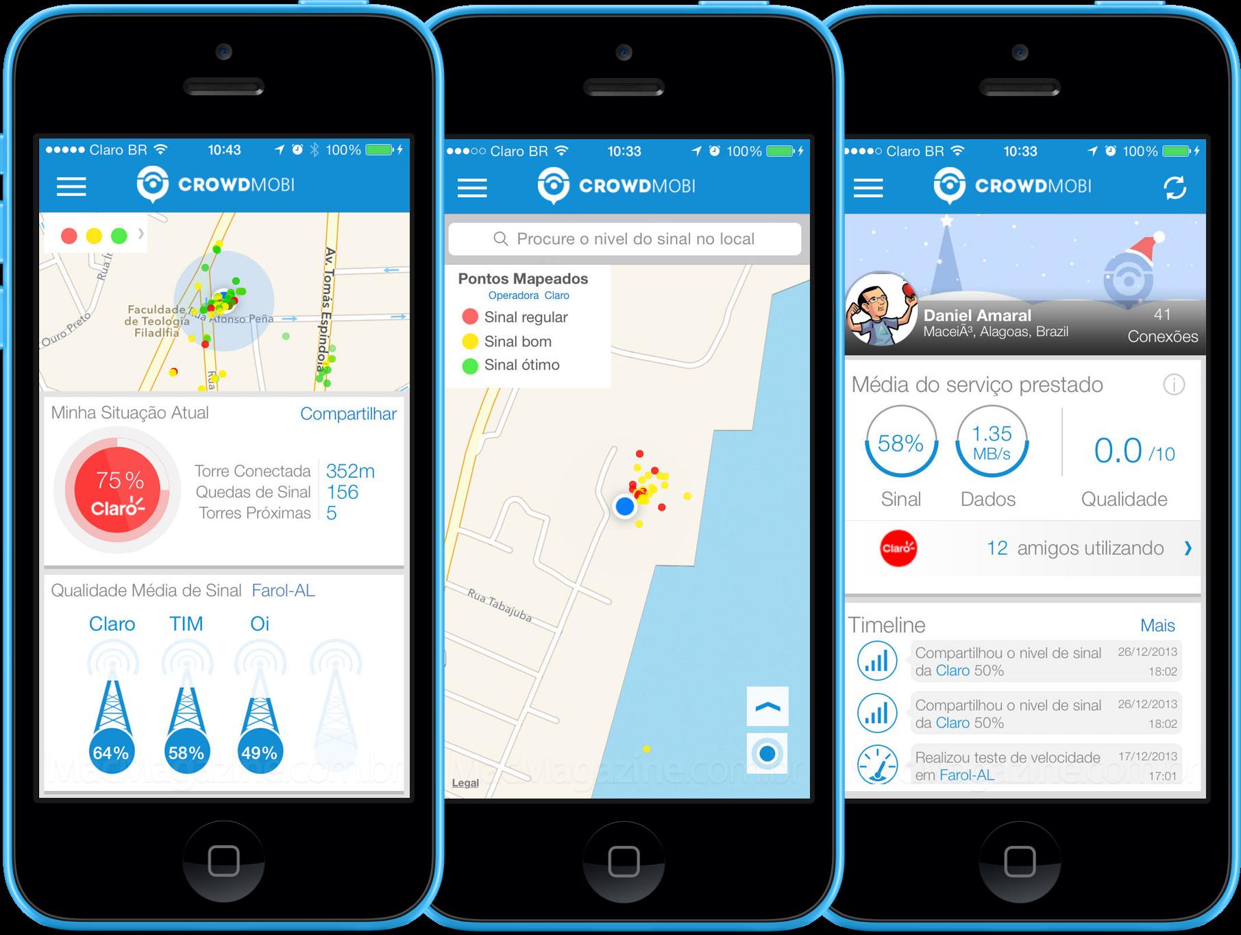App CrowdMobi para iOS