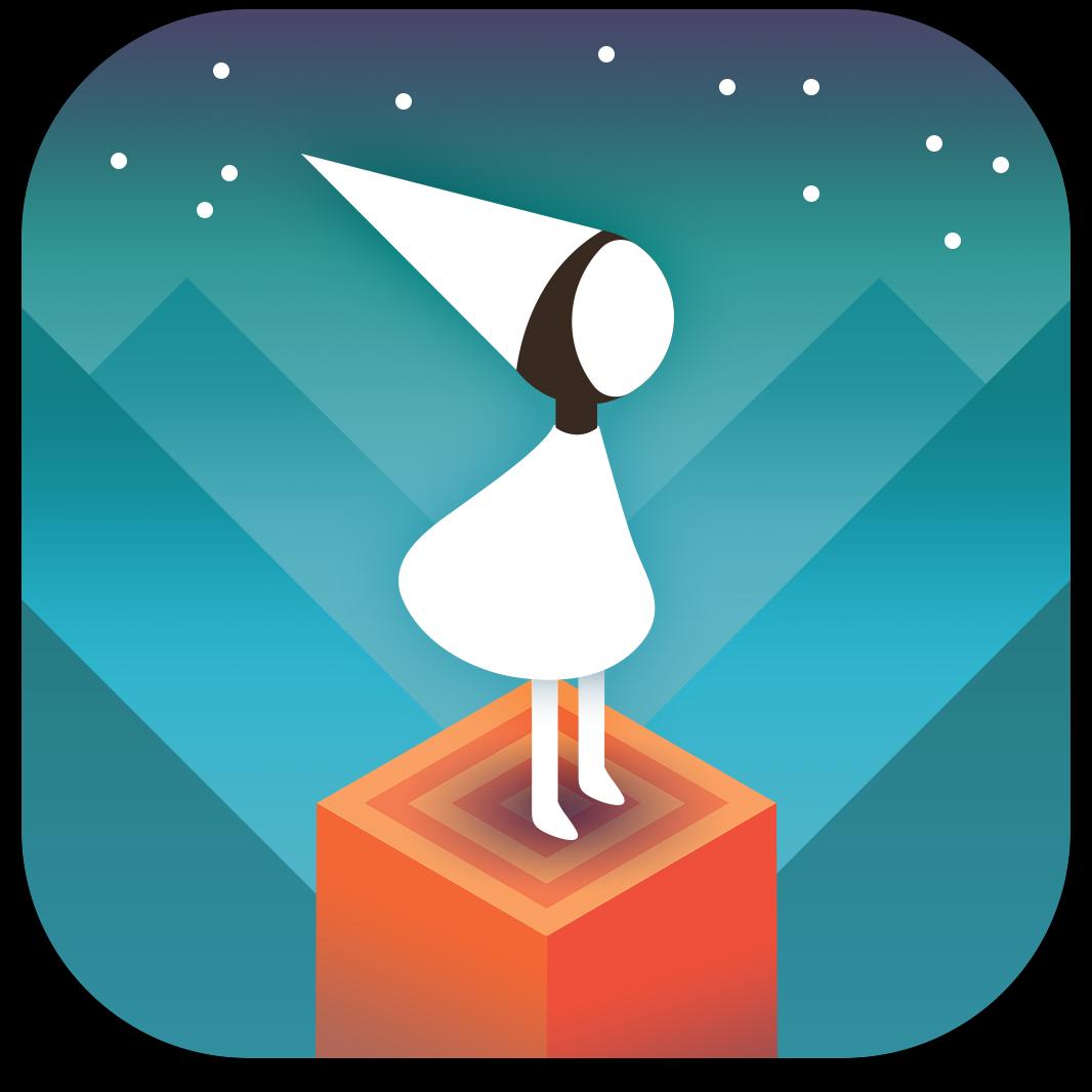 Ícone do jogo Monument Valley para iOS