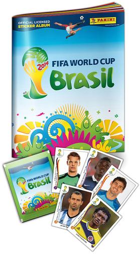 Álbum de figurinhas da Copa