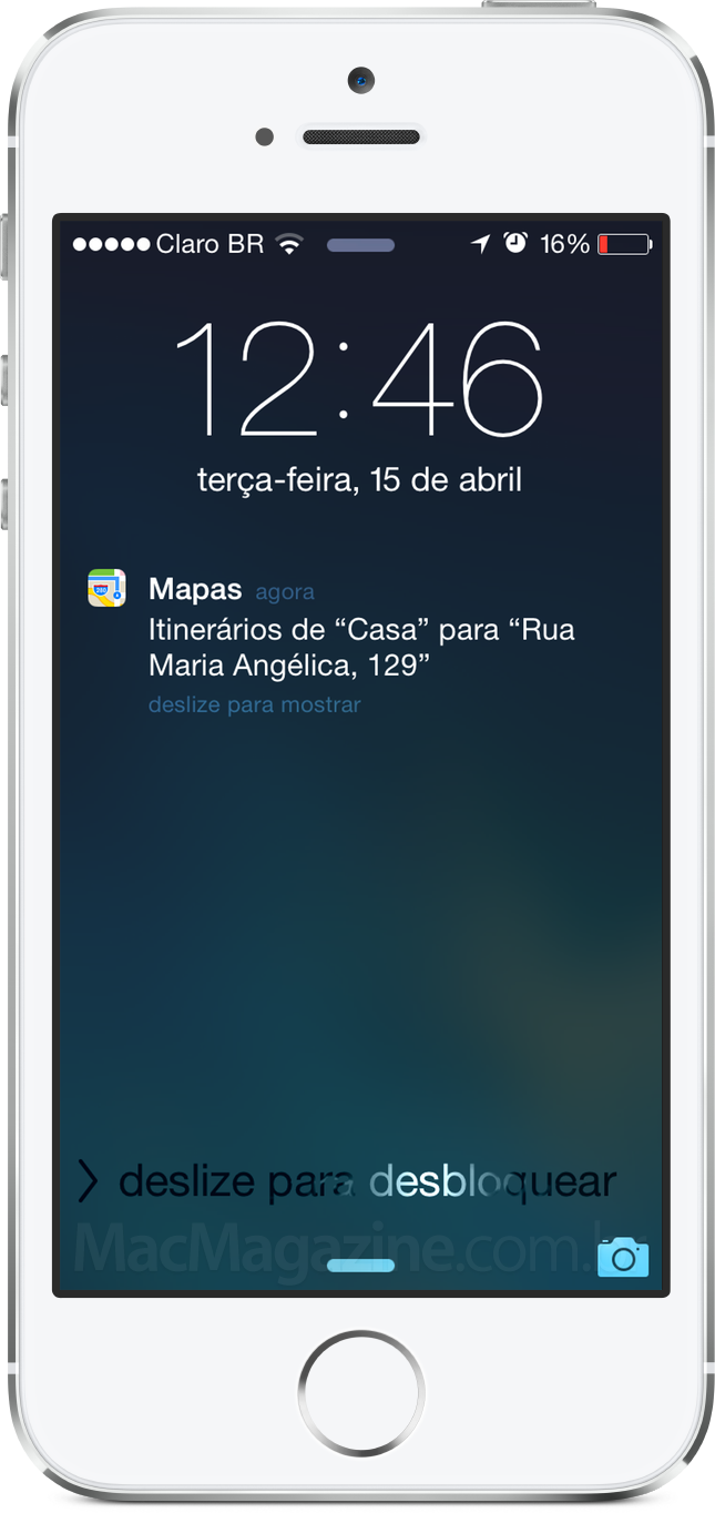 Integração entre Calendário e Mapas do OS X