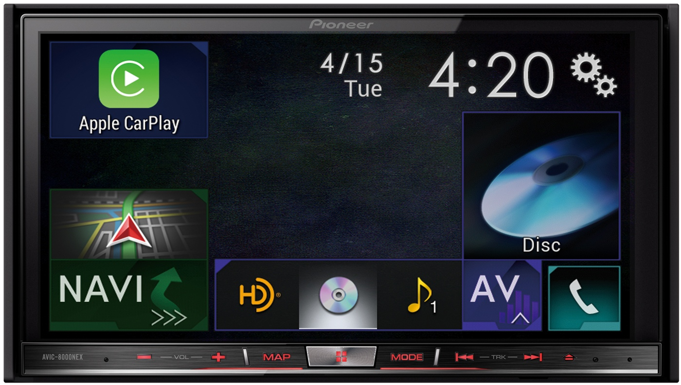 Pioneer - CarPlay
