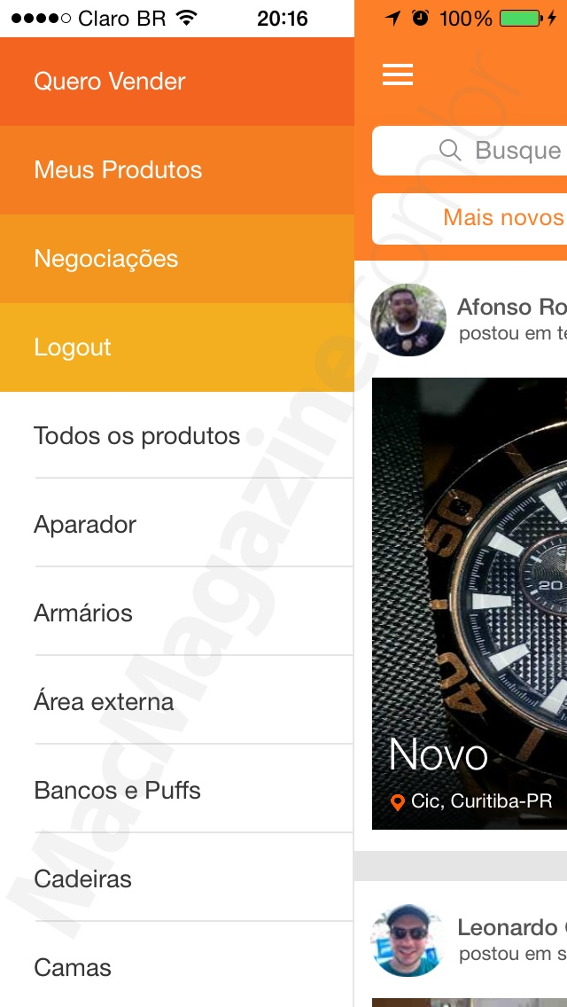 App Renovei para iPhones/iPods touch