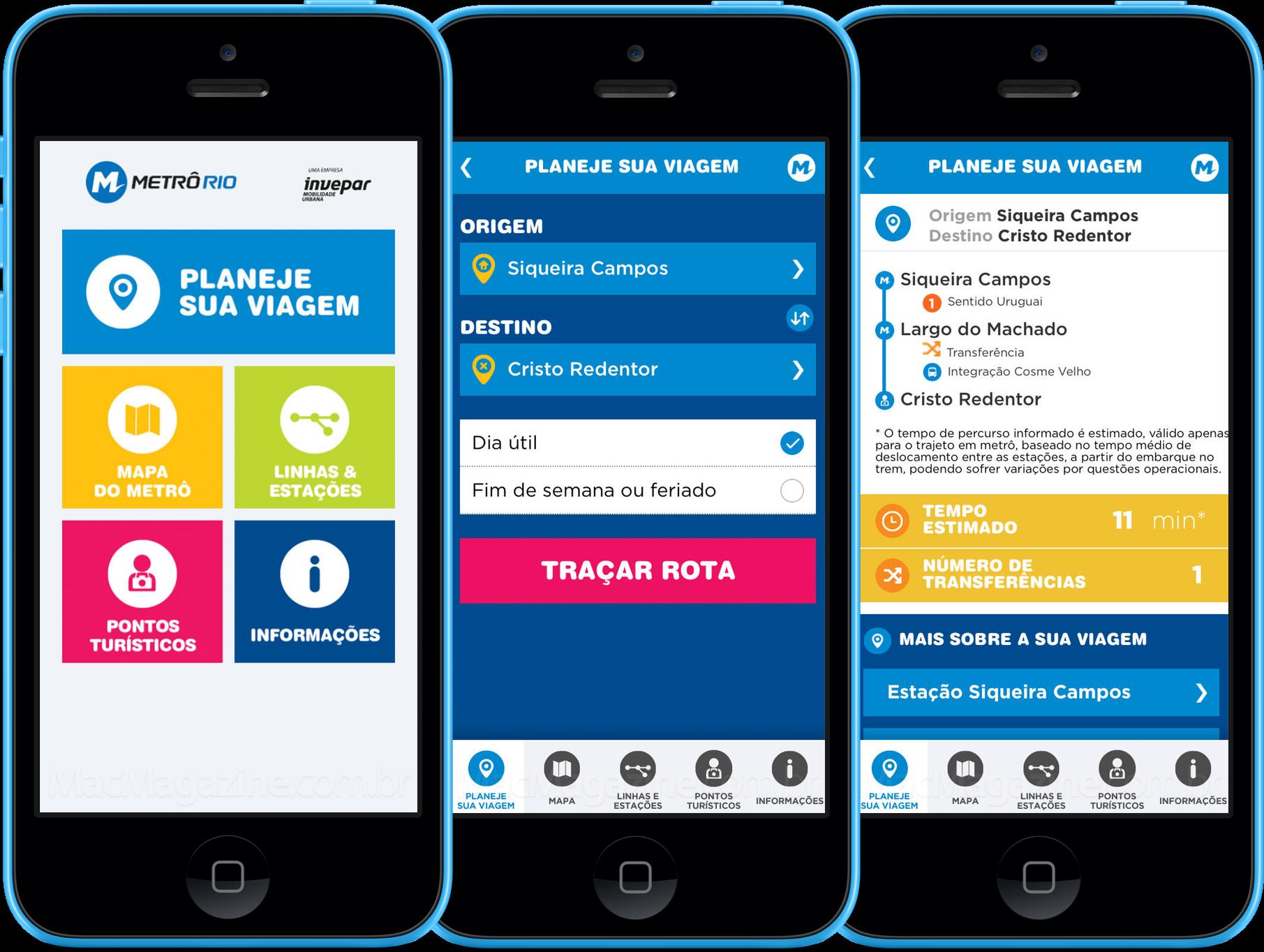 App MetrôFácil para iPhones/iPods touch