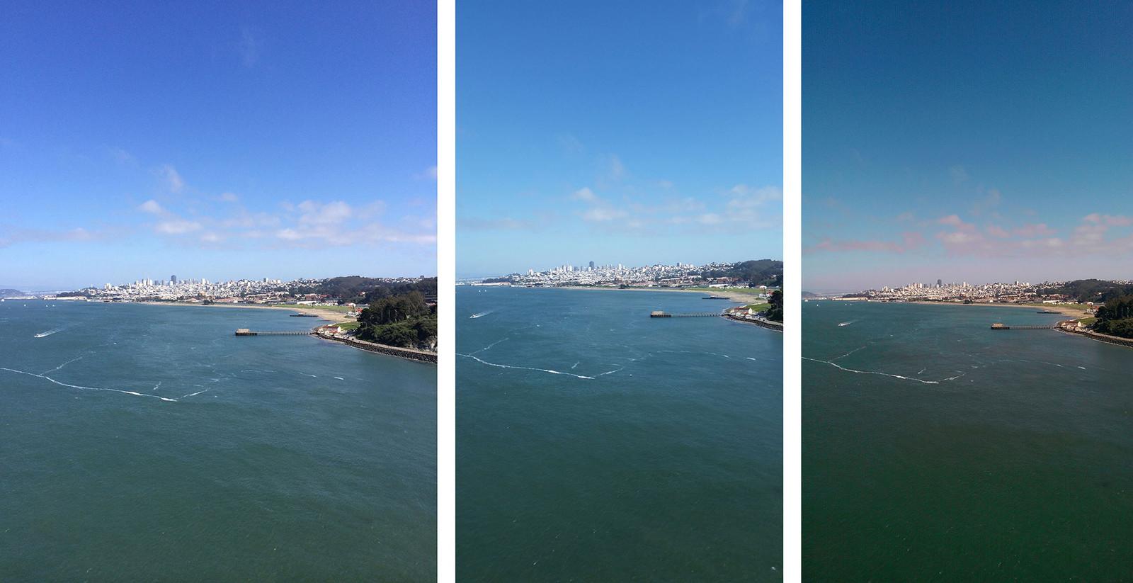 Comparativo de câmeras (5s, S5 e M8)