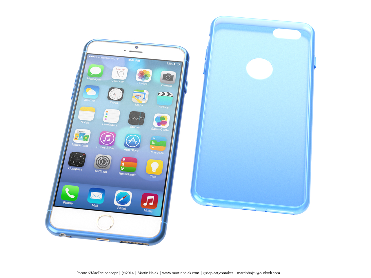 Mockup realista do iPhone 6