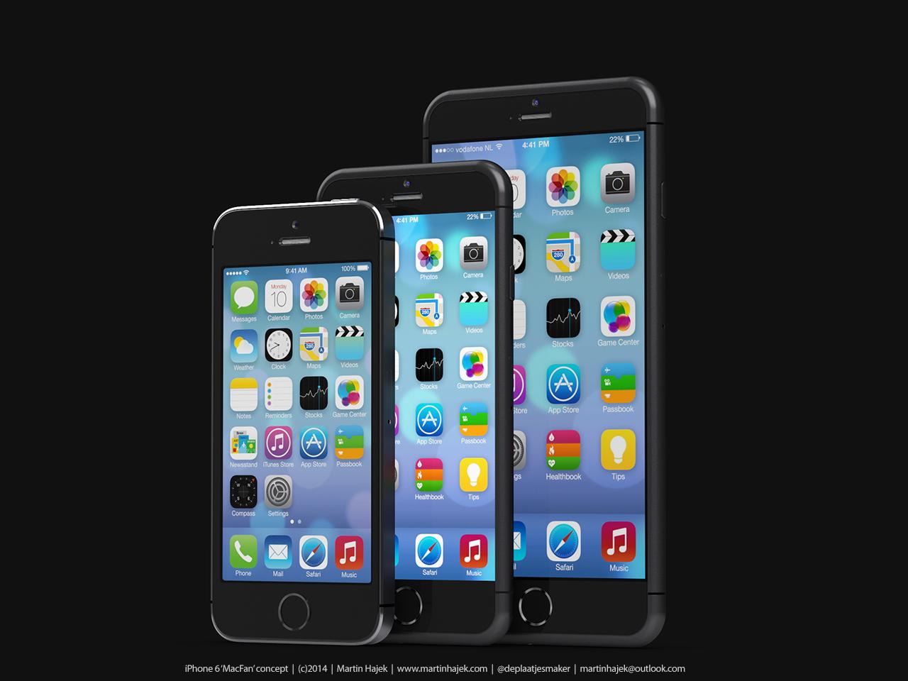 Mockup realista do iPhone 6