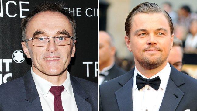 Danny Boyle e Leonardo DiCaprio