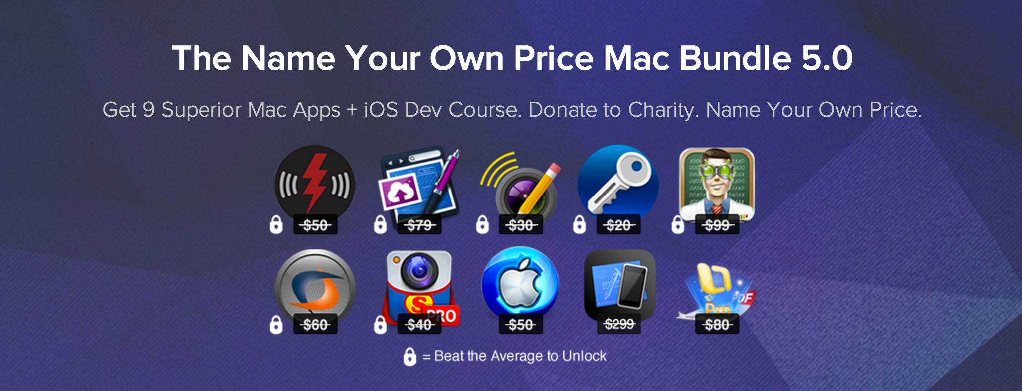 The Name Your Own Price Mac Bundle 5.0