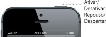 Botão superior do iPhone 5