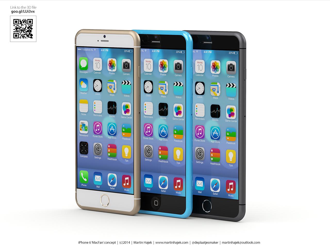 Conceito de iPhone 6c