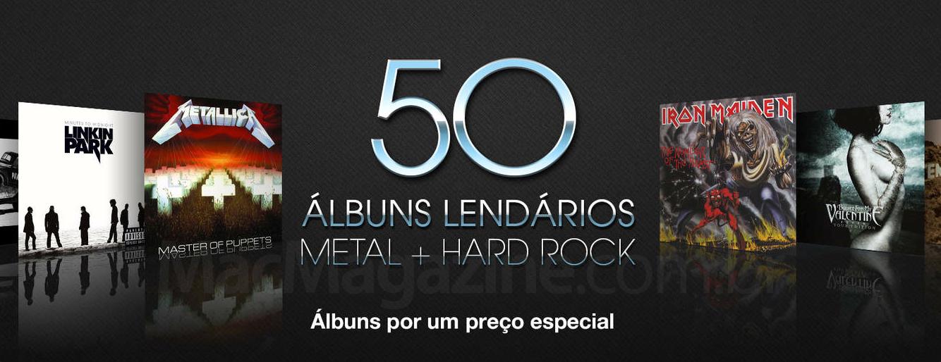 Álbuns de metal e hard rock