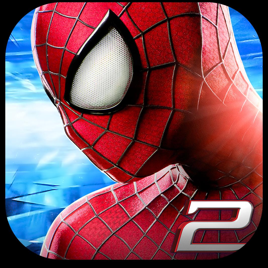 """Ícone do jogo """"O Espetacular Homem-Aranha 2"""" para iOS"""