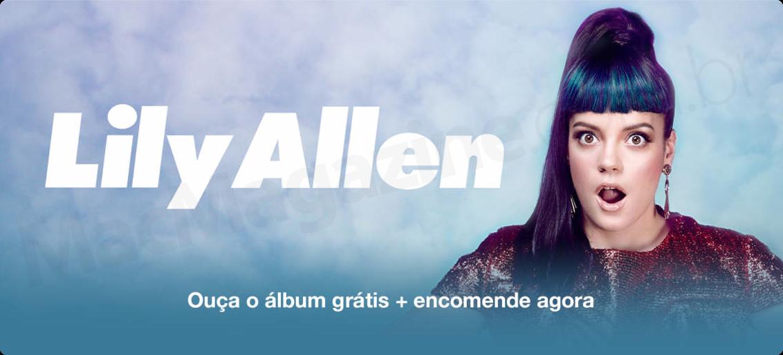 Destaque da Lily Allen na iTunes Store